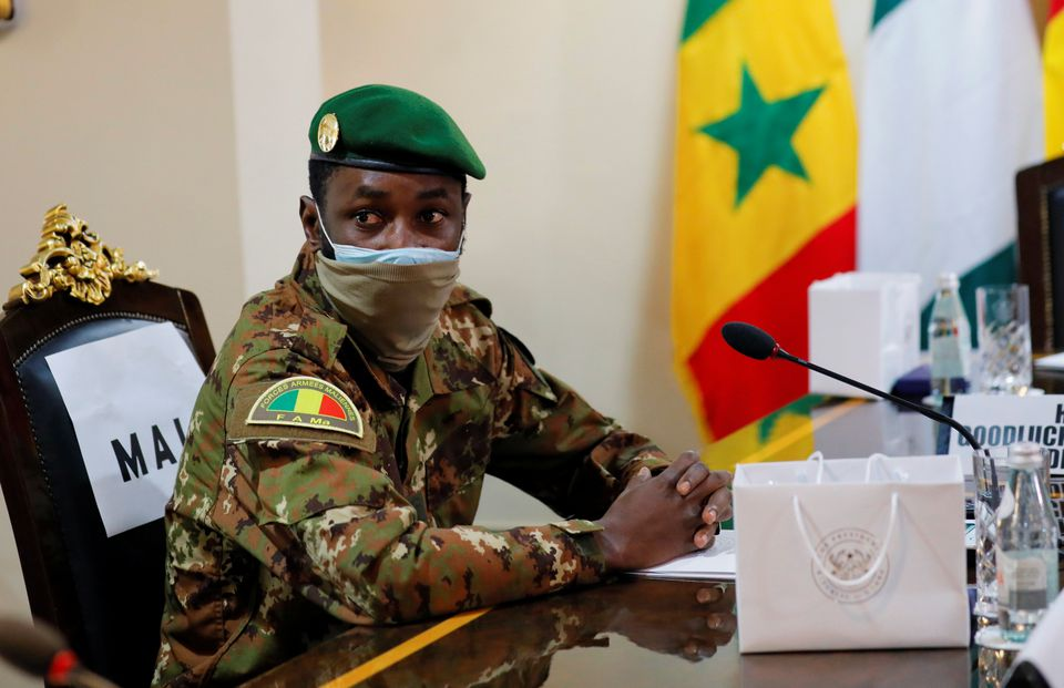 Mali's constitutional court on Friday declared Assimi Goita, the colonel who led a military coup this week while serving as vice president, to be the new interim president.