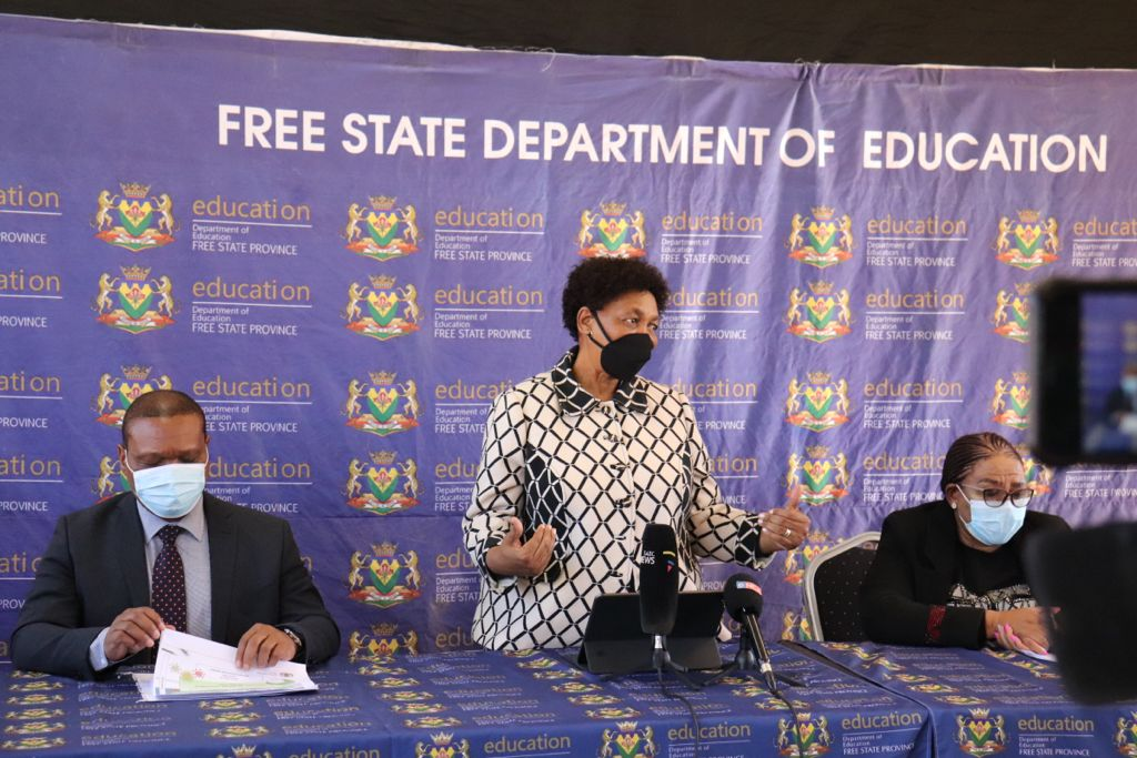 Minister Angie Motshekga will also outline the approach for the closure of schools in the media briefing