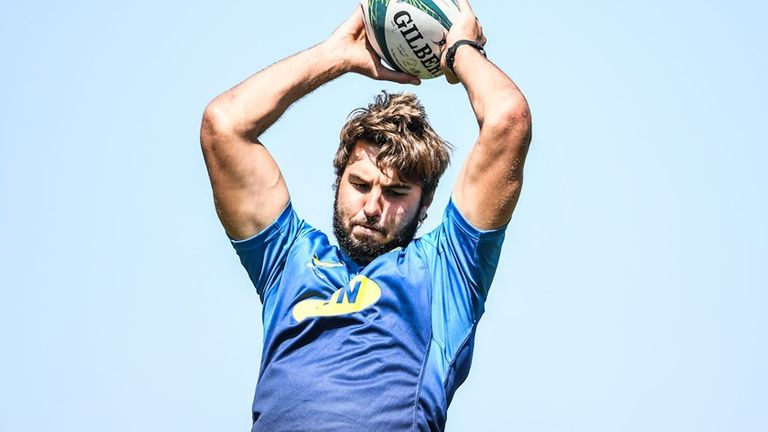 South Africa second row Lood de Jager returned the positive Covid-19 test on Monday